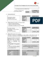 Ficha de avaliação de acção