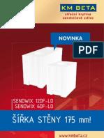 KM Beta - leták Sendwix  6, 12DF