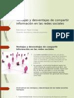 Ventajas y Desventajas de Compartir Información en Las