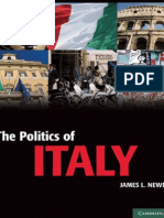 The Politics of Italy_ Governance in a N - James L. Newell