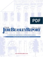 The Jere Beasley Report, Feb. 2008