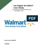 Walmart Case Study