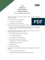 Taller 1. Soluciones y Formas de Expresar La Concentración (3)