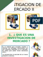 DIAPOS.ESTUDIOS DE INV. MERCADOS II.odp