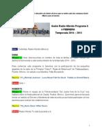 Radio Híbrido Programa 6 Temporada 2014-2015