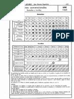UNE_1045=1951 Signos remaches y tornillos