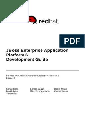 JBoss_Enterprise_Application_Platform-6-Development_Guide-en-US pdf