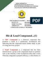 Kelompok 10 - Metode Optimasi Senyawa Penuntun