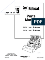 PDF Bobcat 751 Parts Manual Sn 515730001 and Above Sn