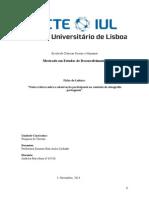 Notas críticas sobre a observação participante no contexto da etnografia portuguesa