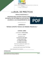 Manual de Prácticas Sub i Soporte Presencial