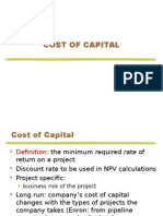 3 Cost of Capital