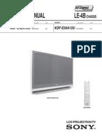 Sony kdf-e50a12u