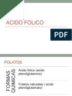 Ac. Folico - Pediatria