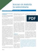 El Debido Proceso en Materia Disciplinaria Universitaria