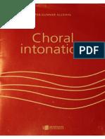 Choral Intonation - Per-Gunnar Alldahl