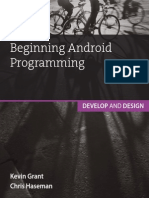 Android Develop and Design
