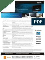 Especificaciones AIO VPCL235FL