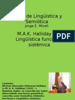 la linguistica funcional sistemica