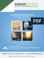 Händler Vorschau · Frühling und Sommer 2015