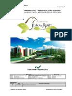 Manual de Uso, Operacao e Manutenção Do Imovel - Joao de Barro