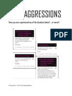 Micro Aggressions