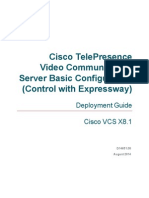 Cisco VCS Basic Configuration Control With Expressway Deployment Guide X8 1