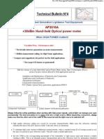 Technical Bulletin N°4 - APEX Technologies