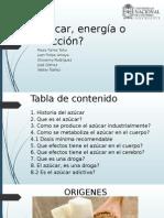 Azúcar, Energía o Adicción (1)