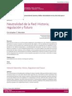 Neutralidad en La Red... Historia, Regulación y Futuro