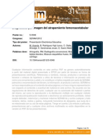 Pinzamiento Femoroacetabular SERAM2012_S-0048