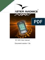 FlymasterB1nav Manual en v1.5a