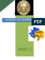 Diseño de Bomba Axial