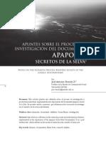 Antonio Dorado - Apuntes Para Apaporis