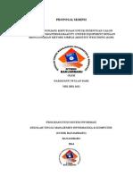 Sistem Penunjang Keputusan Untuk Penentuan Calon Karyawan Pada Perusahaan Pt. United Equipment Dengan Menggunakan Metode Simple Additive Weigthing (Saw)