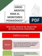 Instrumentos Para El Monitoreo