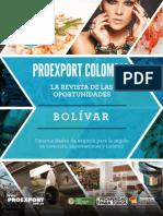 Revista de Oportunidades Proexport Bolivar