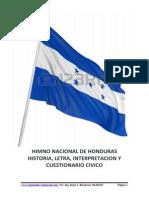 Himno Nacional de Honduras (1)