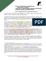 Mensaje de Las Comunidades Ecuménicas de FUNDALATIN1 y de IDHES2