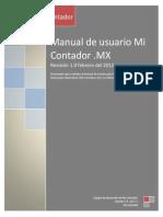 Manual de Usuario factura
