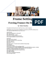 Tyler Durden - Frame Setting Forcing Frames on Hotties Cd2 Id119500574 Size87