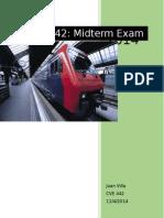 CVE 442 Midterm