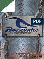 Catalogo 2014 de accesorios automotrices