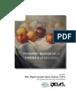 PRINCIPIOS BÁSICOS DE LA PINTURA A LA ACUARELA