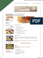 Dieta baja en purinas menu