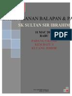Kertas Kerja Kejohanan Balapan Dan Padang 2015
