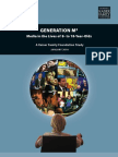 Generation M2 - Media in the Lives of 8 - 18 Year Olds