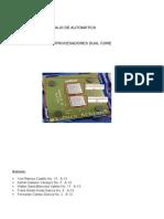Microprocesadores Dual Core