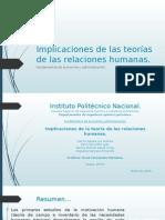 Implicaciones de las teorías de las relaciones humanas.pptx