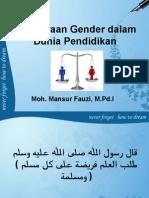 Kesetaraan gender dalam dunia pendidikan.ppt